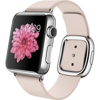 Apple Watch Series 1 38mm Stainless Steel Case with Modern Buckle