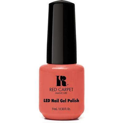 Red Carpet Manicure LED Gel Polish Coral Wishes 9ml