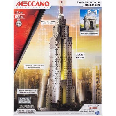 Meccano Empire State Building 2 in 1 Model Set