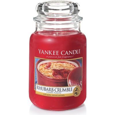 Yankee Candle Classic Rhubarb Crumble 623g Doftljus
