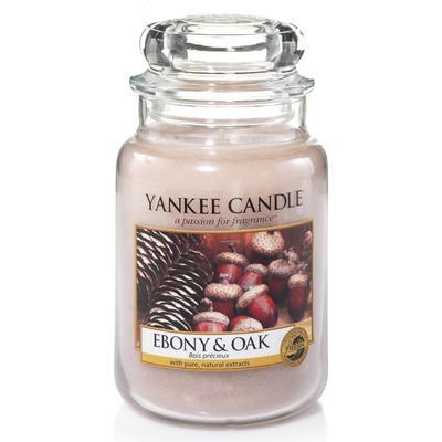 Yankee Candle Classic Ebony & Oak 623g Doftljus