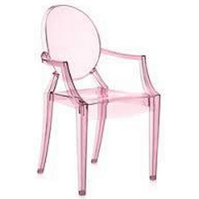 Kartell Lou Lou Ghost Chair Karmstol
