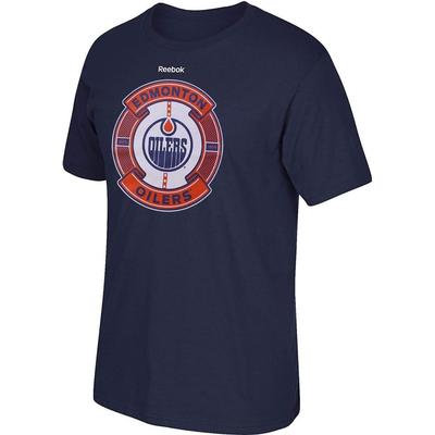 Reebok Edmonton Oilers Slick Pass T-Shirt