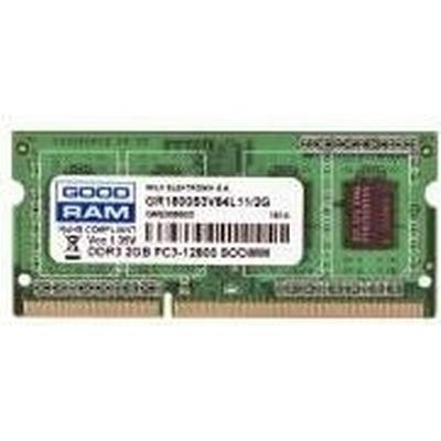 GOODRAM DDR3 1600MHz 2GB (GR1600S3V64L11/2G)