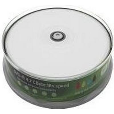 MediaRange DVD+R 4.7GB 16x Spindle 25-Pack Wide Inkjet