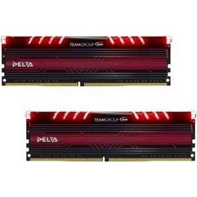 Team Group Delta Red DDR4 2400MHz 2x8GB (TDTRD416G2400HC15ADC01)