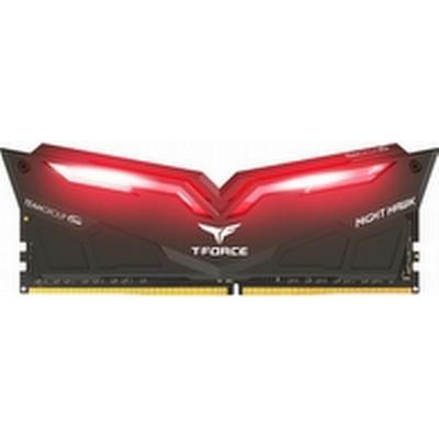 Team Group T-Force Nighthawk Black/Red LED DDR4 3200MHz 2x8GB (THRD416G3200HC16CDC01)