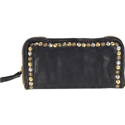 Campomaggi Zip Around Wallet With Studs
