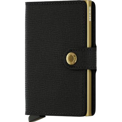 Secrid Mini Wallet - Crisple Black/Gold