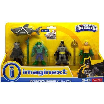 Fisher Price Imaginext DC Super Friends Heroes & Villains Batman & Aquaman