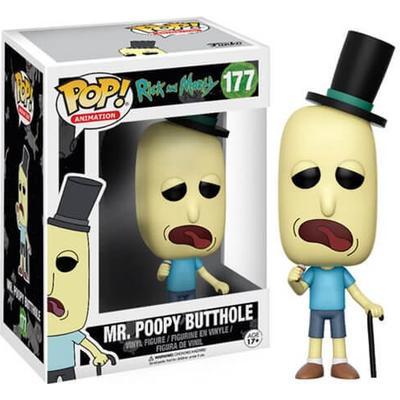 Funko Pop! Animation Rick & Morty Mr. Poopy Butthole