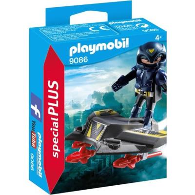 Playmobil Sky Knight with Jet 9086
