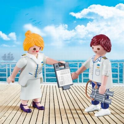 Playmobil Cruise Ship Officers 9216