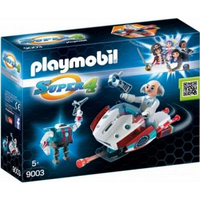Playmobil Skyjet with Dr. X & Robot 9003