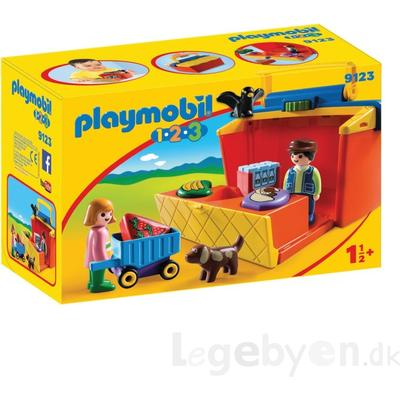 Playmobil Take Along Market Stall 9123