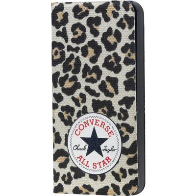 Converse Canvas Booklet Leopard (iPhone 5/5S/SE)