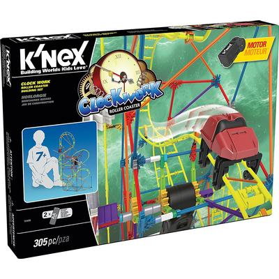 Knex Clock Work Roller Coaster Building Set