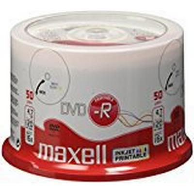 Maxell DVD-R 4.7GB 16x Spindle 50-Pack Wide Inkjet