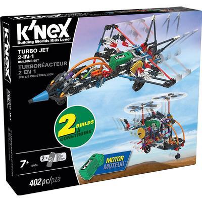 Knex Turbo Jet 2 In 1 Buildingset 16004