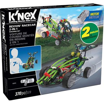 Knex Revvin' Racecar 2 In 1 Building Set 16005