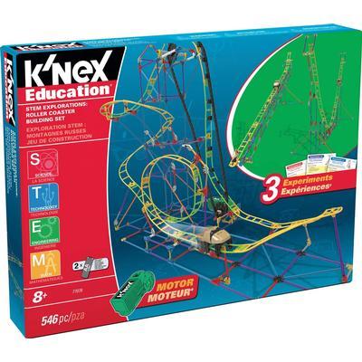 Knex Stem Explorations Rollercoaster Building Set 77078