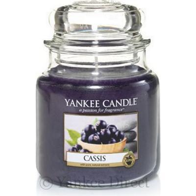 Yankee Candle Cassis 411g Doftljus