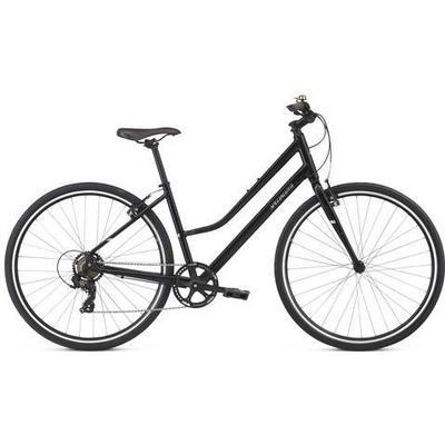 Specialized Alibi Step Through 2018 Womens Hybrid Bike | Black - L