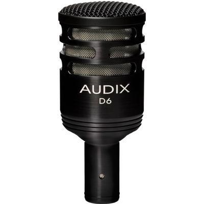 Audix D6 Upptagningsförmåga Cardioid