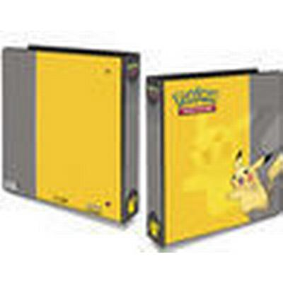 Ultra Pro Pokemon Pikachu 3 Ring Binder with 25 Platinum 9 Pocket Pages