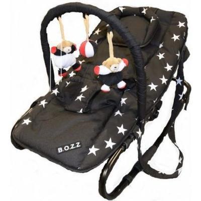 Bozz Babysitter inkl, Lekbåge Ställbar Svart/Stjärna