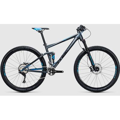 Cube Stereo 120 HPA Race 29 2017 Herrcykel