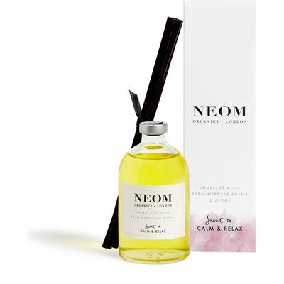 Neom Organics Scent To Calm & Relax Reed Diffuser Refill Complete Bliss 100ml