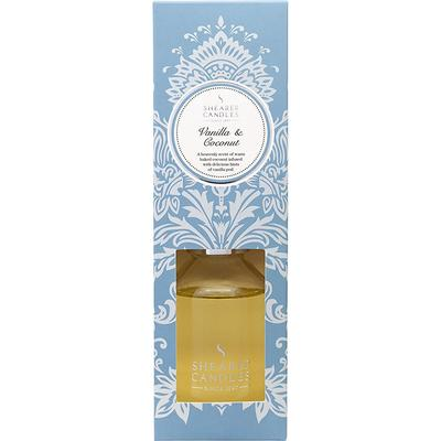 Shearer Candles Reed Diffuser Vanilla and Coconut Scented 100ml