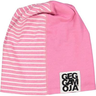 Geggamoja Two Color Beanie - St.Pink Mel / White (30617132)