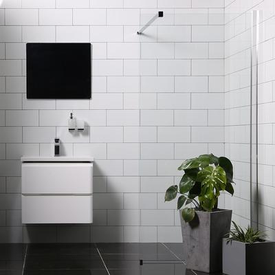 Bathlife Mångsidig (MSG070PNEGTAL) Duschvägg 700mm