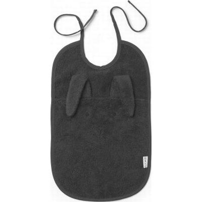 Liewood Theo Rabbit Dark Grey Bib