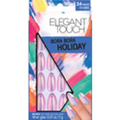 Elegant Touch Holiday Collection Bora Bora Nails 24-pack