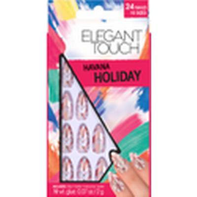 Elegant Touch Holiday Collection Havana Nails 24-pack
