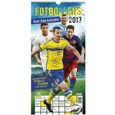 Fotbollens kom-ihåg-kalender 2017 (Spiral, 2016)