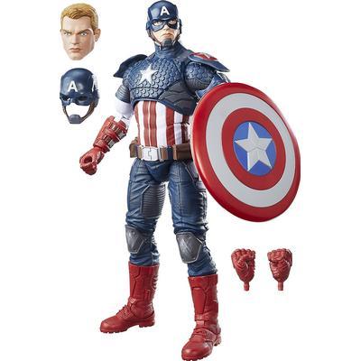 "Hasbro Marvel Legends Series 12"" Captain America Figure B7433"