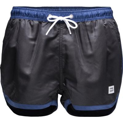 Frank Dandy St Paul Swim Shorts Black/Dark Navy