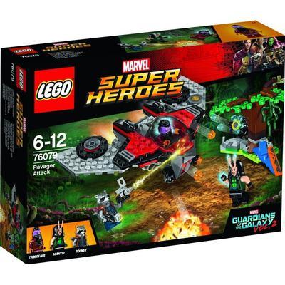 Lego Marvel Super Heroes Ravager Attack 76079
