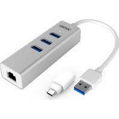 Unitek Y-3083B 3-Port USB 3.0/3.1 Extern