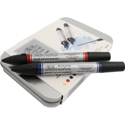 Winsor & Newton Water Colour Markers 6-pack