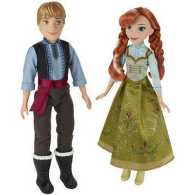 Hasbro Disney Frozen Anna & Kristoff 2 Dolls B5168