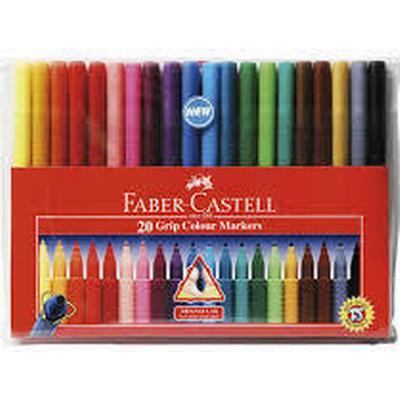Faber-Castell Grip Color Marker Pens 20-pack