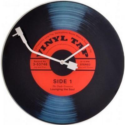 Nextime Vinyl Tap 43cm Väggklocka