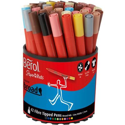 Water Based Marker 1.7mm 42-pack