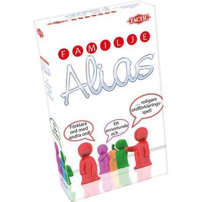 Tactic Familje Alias (Svenska) Resespel