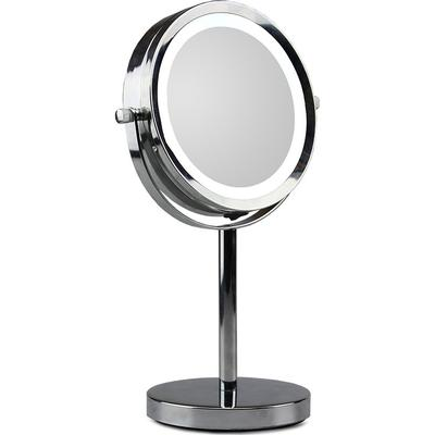 Gillian Jones Silver Stand Mirror with LED X5